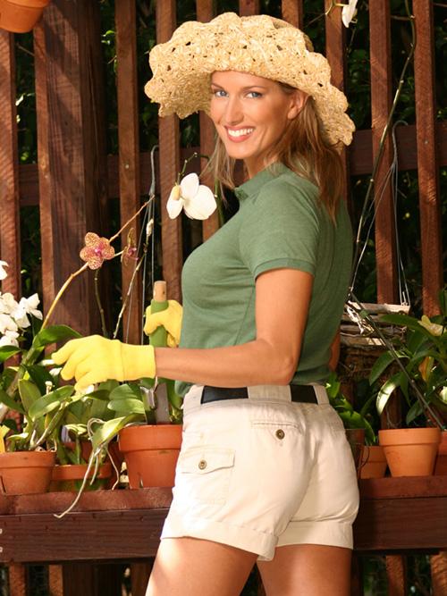 Deana Clark Lifestyle Model Gardening