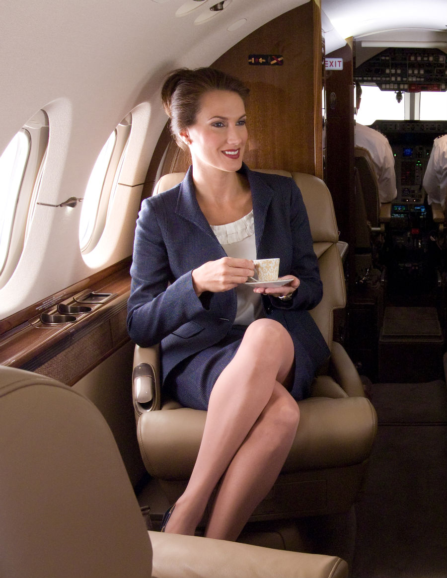 Deana Clark Lifestyle Model Private Jet 1