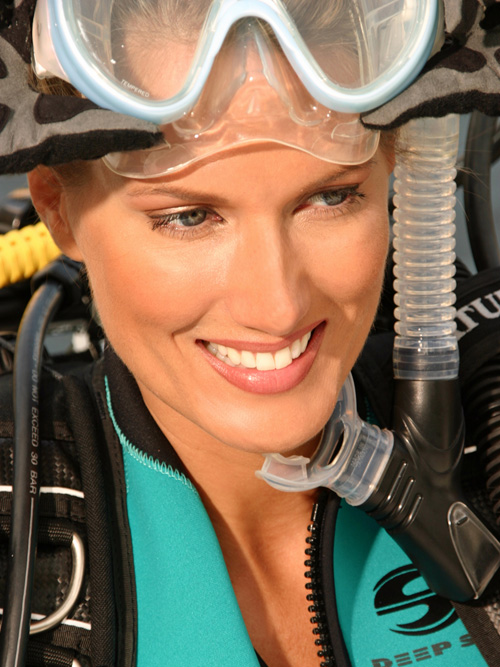 Deana Clark Model Beautiful Smile