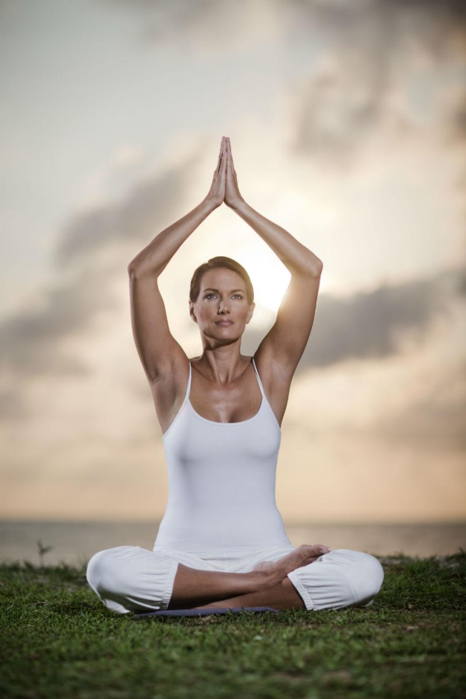 Deana Clark Model Meditation Yoga Life