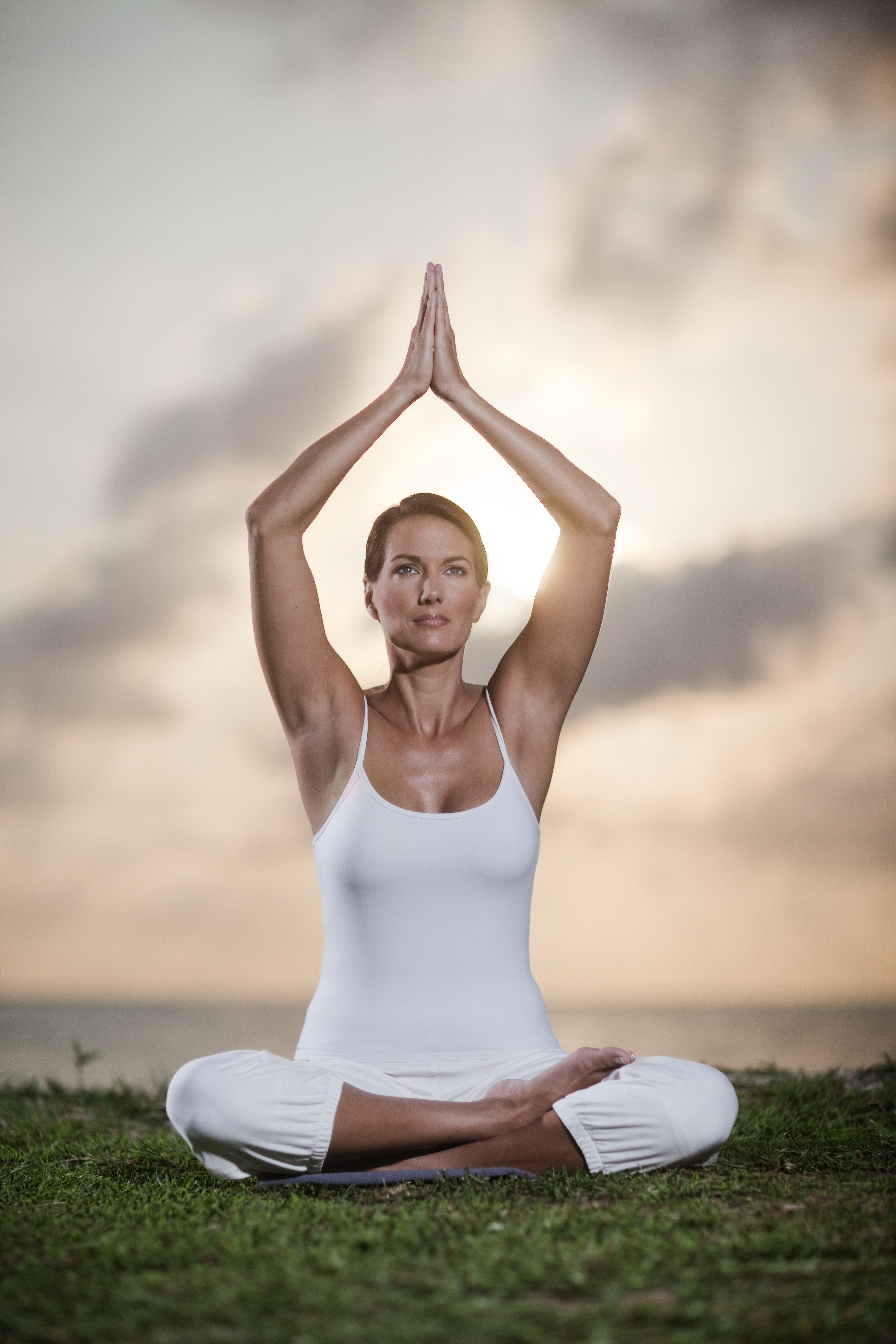 Deana Clark Model Meditation