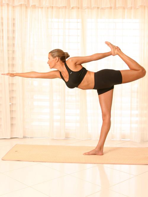 Deana Clark Model Stretching
