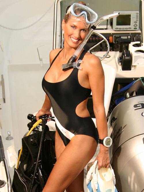 Deana Clark Model Swimsuit Body