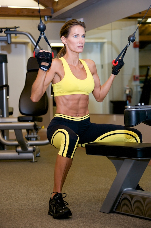 Deana Clark Model Working Out