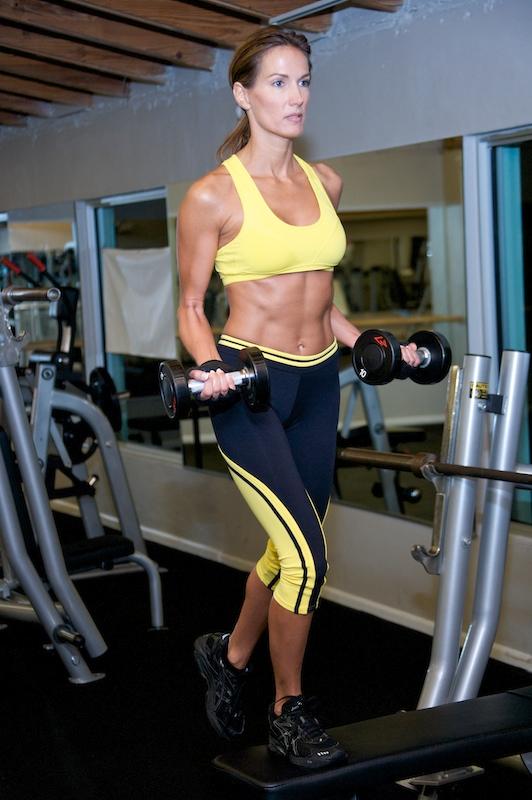 Deana Clark Model in Gym